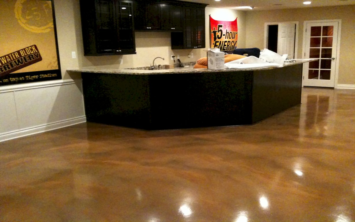 Huntington Woods Mi Reflector Enhancer Basement custom basement flooring 2